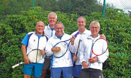 Die Männer Ü55 des TCF sind Landesligameister!